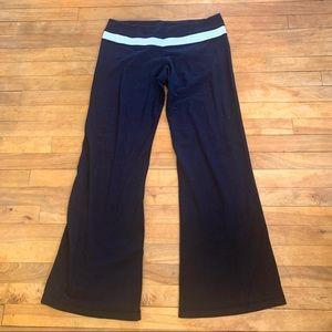 4/$25 - LULULEMON Black Groove Pant - Size 12